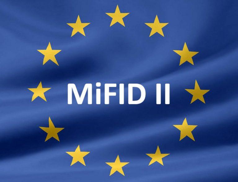 3 gennaio 2018: MIFID 2 attiva