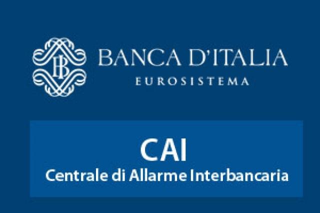 Novità dalla Banca d'Italia per i nominativi segnalati in CAI